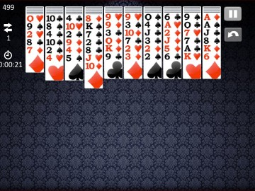 Arkadium Spider Solitaire